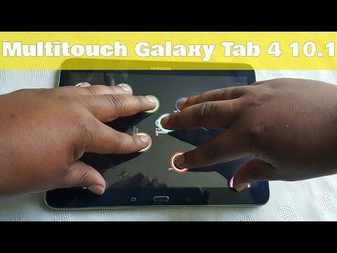 Samsung Galaxy Tab 4 10.1 Multitouch Tester