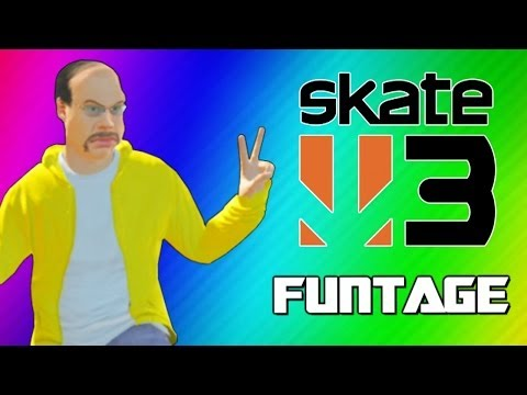 Skate 3 Funny Moments 2 – Glitchy Stairs, Cocoon, Trick Fails, Becoming Pro Skaters! (Funtage)