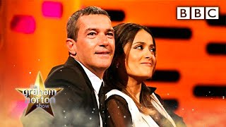 Salma Hayek's Breasts - The Graham Norton Show - Series 10 Episode 7 - BBC One