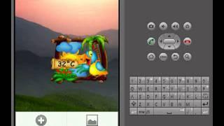 Parrot Weather Widget YouTube video