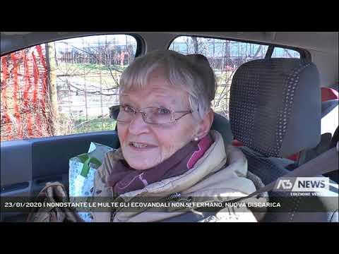 23/01/2020   NONOSTANTE LE MULTE GLI ECOVANDALI NON SI FERMANO, NUOVA DISCARICA