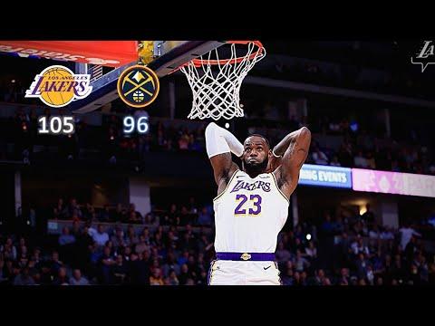 Los Angeles Lakers vs Denver Nuggets Full Game Highlights   December 3, 2019-20 NBA Season