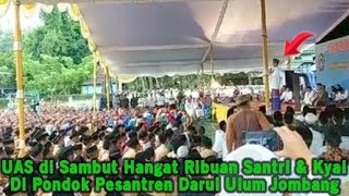 Video UAS di Pon Pes Darul Ulum Jombang, Ustadz Abdul Somad di Sambut Hangat Oleh Ribuan Santri & Kyai MP3, 3GP, MP4, WEBM, AVI, FLV April 2019