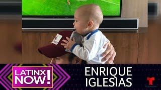 Mira el coqueto baile del bebito de Enrique Iglesias | Latinx Now! | Entretenimiento