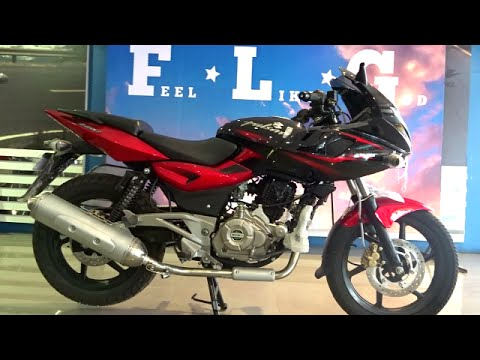 Video #Bikes@Dinos: Bajaj Pulsar 220F DTSi Review, Exhaust Note (Walkaround Red and Black colours) download in MP3, 3GP, MP4, WEBM, AVI, FLV January 2017