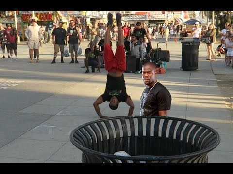 KEVIN HART CAN FLIP?!