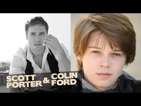 Colin Ford & Scott Porter title=