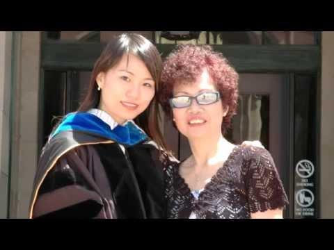 電台見證 黃愛恩與媽媽 (08/03/2014於多倫多播放)