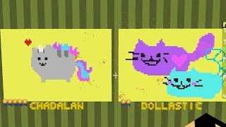 Minecraft / Pixel Painters / Pusheen and Bumble Bee Cat / Gamer Chad Plays - Thanks for watching! Dollastic Plays: ...