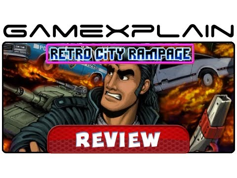 3ds - http://www.GameXplain.com How much does revamped DX version of Retro City Rampage improve on the original? Does this ambitious indie title deliver on a handh...