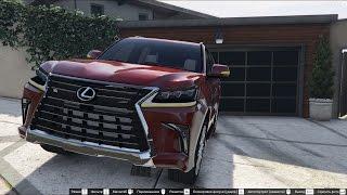GTA 5 2016 Lexus LX 570
