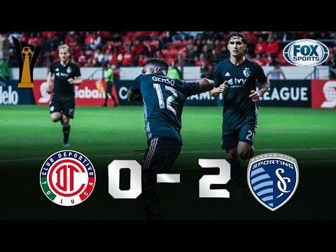Toluca - Sporting KC [0-2] | GOLES | Octavos (Vuel...