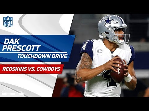 Video: Dak Prescott's Laser TD Pass Finishes Off Big Drive! | Redskins vs. Cowboys | NFL Wk 13 Highlights