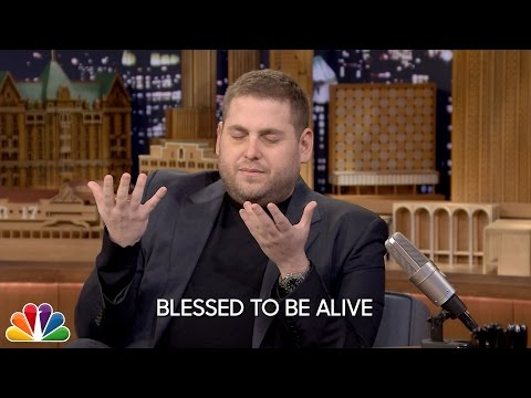 Jonah Hill Does an Emotional Interview on 'The Tonight Show Starring Jimmy Fallon