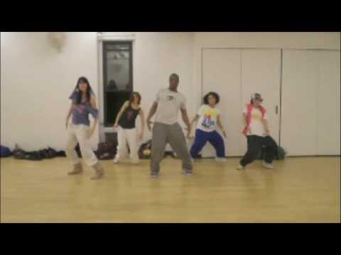 Обучение танцам, связка Justin Timberlake - If i HipHop, показывает BRIAN
