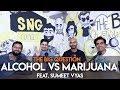 SnG: Alcohol vs Marijuana Preference? feat Sumeet Vyas | Big Question S2 Ep36