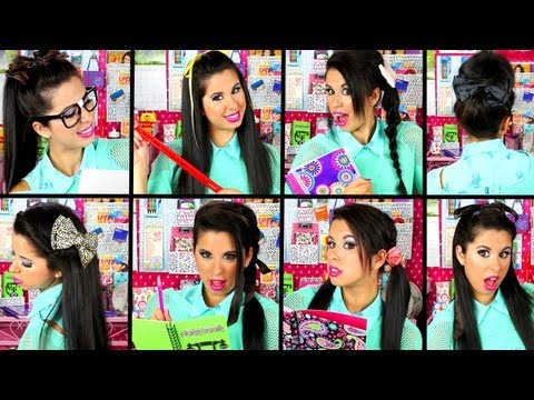 ♡ 10 Quick & Easy School Hairstyles! ♡