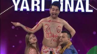yetenek sizsiniz türkiye yarı final  üstadi komikler