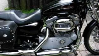 9. Harley-Davidson Sportster XL 883 Custom 2008 With Screaming Eagle Mufflers