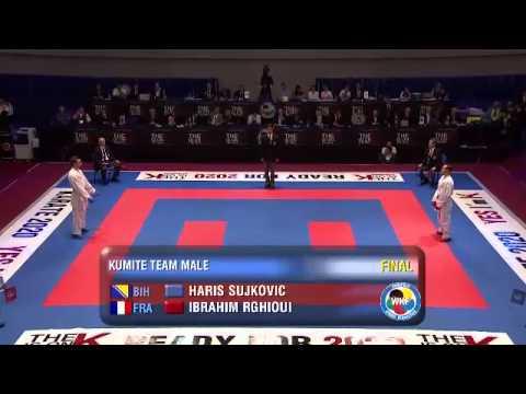 WKF Karate Eb 2013 Budapest - éremmeccsek 3.