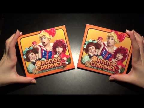 Unboxing Orange Caramel 오렌지캬라멜 2nd Mini Album 아잉♡ Aing~♡ (Korean & Taiwan Version)