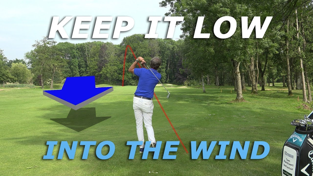 How to play golf in the wind - How to hit a low golf shot