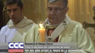 Renunció el Obispo Zecca