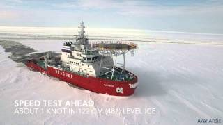 Video Oblique Icebreaker Baltika - Ice trials on 19 March - 10 April 2015 MP3, 3GP, MP4, WEBM, AVI, FLV November 2018