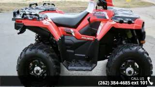 3. 2017 Polaris Sportsman 850 Indy Red  - Action Power Sport...