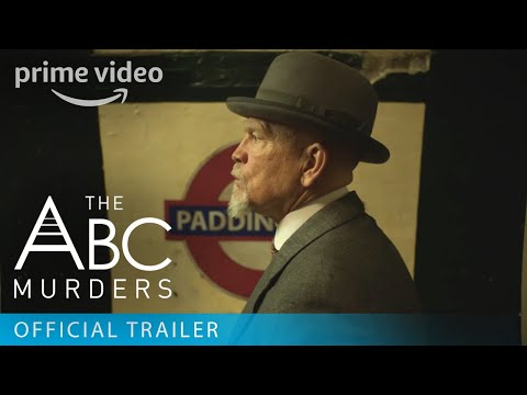 The ABC Murders - Official Trailer | Prime Video