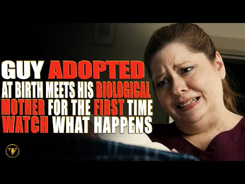 Guy Adopted At Birth Meets His Biological Mother For The First Time, Watch What Happens