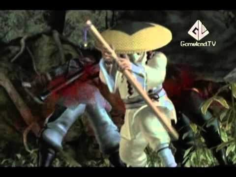 ОтжЫг на Gameland TV - Ninja Gaiden 2