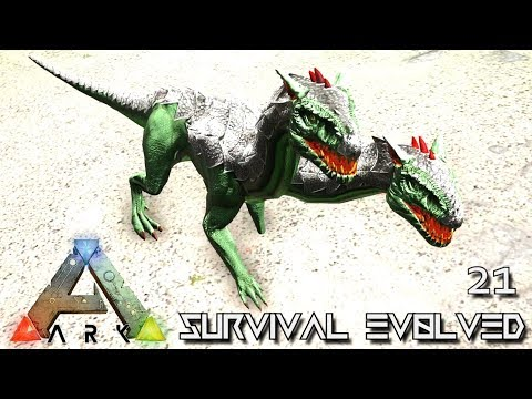 ARK: SURVIVAL EVOLVED - TWO HEADED DRAGON BABY ORTHROS E21 !!! ( PRIMAL FEAR PYRIA )