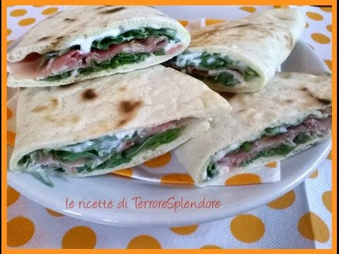 video ricetta: deliziose piadine all'olio extravergine di oliva