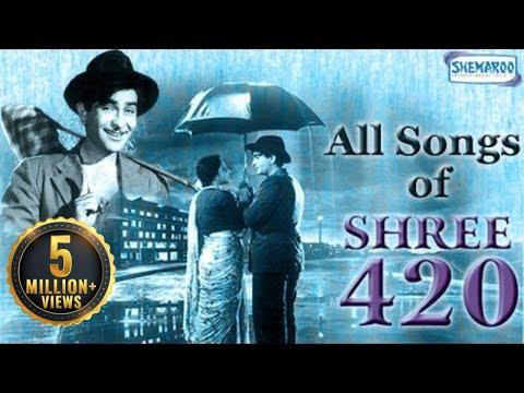 Video Shree 420 - All Songs - Raj Kapoor - Nargis - Nadira - Mukesh - Asha Bhosle - Manna Dey download in MP3, 3GP, MP4, WEBM, AVI, FLV January 2017