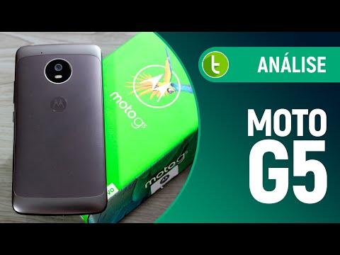 Análise Motorola Moto G5  Review do TudoCelular