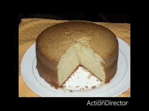HOW TO BAKE SOFT & SWEET BIRTHDAY CAKE