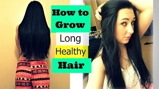 these are my tips on growing long and healthy hair!my hair journey https://youtu.be/tDukodAJB48