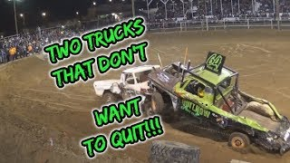 Video TWO trucks that DON'T want to QUIT!! MP3, 3GP, MP4, WEBM, AVI, FLV Juli 2019
