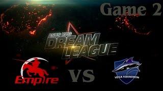 Empire vs Vega, game 2