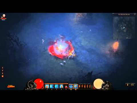 Diablo III: Discover how Runestones Affect the Monk's Exploding Palm