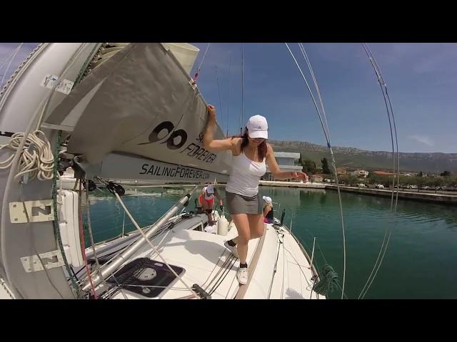 Newton Yacht Cup vyplutí