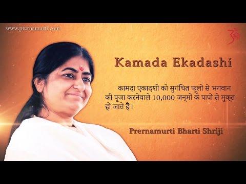 Kamada Ekadashi Significance & Vrat KathaHindi  कामदा एकादशी का माहात्म्य -Prernamurti Bharti Shriji