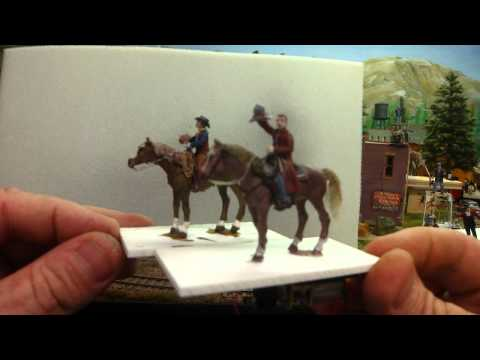 2 cowboys on horses animations
