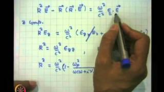 Mod-01 Lec-30 Electromagnetic Propagation At Oblique Angles To Magnetic Field In A Plasma