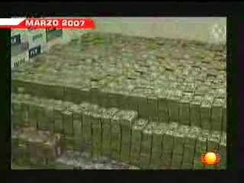 Politiði konfiskerar 205mill dollars
