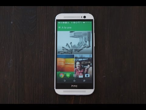 Test en français du HTC One (M8)