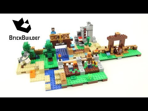LEGO MINECRAFT 21135 The Crafting Box 2.0 version A Speed Build for Collecrors - Collection 57 sets