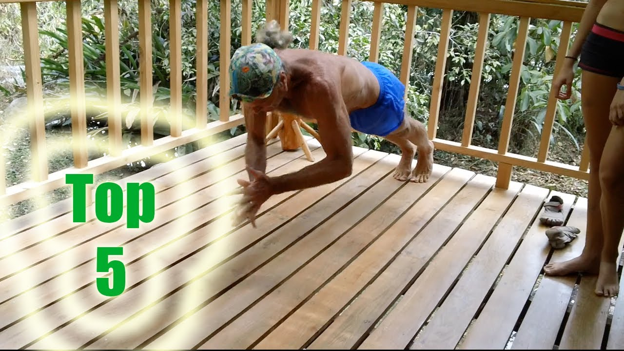 Top 5 Hardest Push Ups In The World