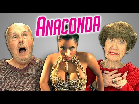 Elders React to Nicki Minaj – Anaconda